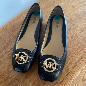 Michael kors brand new leather shoes slip on flats